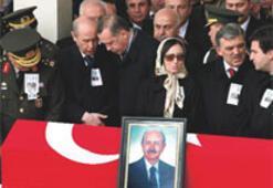 Devlet Aktan'ı uğurladı