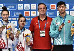Türk sporcular 3ü altın 9 madalya kazandı