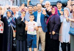 'Şehit ailelerinin daima yanındayız'