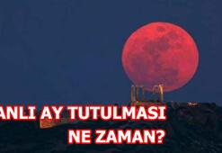 Kanlı ay tutulması ne zaman gerçekleşecek Türkiyeden görülebilecek mi
