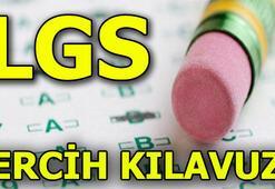 LGS tercih kılavuzu 2018 Liseye giriş sınavı tercihleri nasıl yapılır
