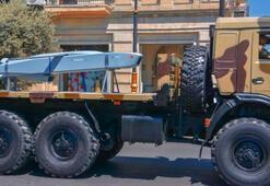 Milli füze SOM-B1 Azerbaycan Ordusu'nun geçit töreninde