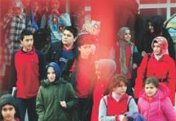 Çınar Koleji'nde türban ısrarı sürüyor