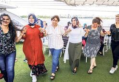 15 bin kadın Boğaz'la tanışıyor