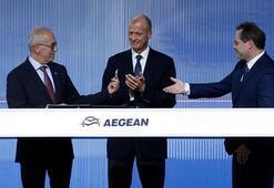 Aegean Airlines ile Airbustan 5 milyar avroluk anlaşma