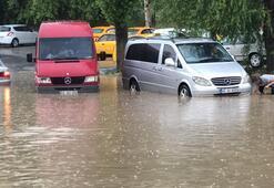 Ankarada şiddetli yağış