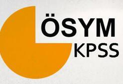 2018 KPSS tarihi belli oldu KPSS başvuruları ne zaman yapılacak