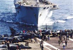 Fransız donanmasına 'virüs' bulaşınca,  uçaklar yerde kaldı