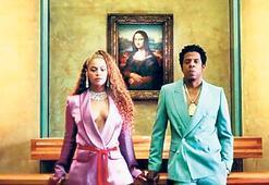 Beyoncé ve Jay-Z'den yeni albüme Louvre'da klip