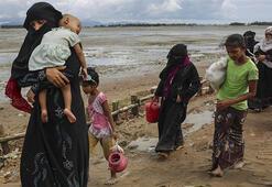11 bin Arakanlı Muson yağmurlarından etkilendi