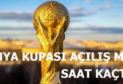 Dünya kupası ne zaman başlayacak Dünya kupası açılış maçı saat kaçta