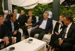 Cumhurbaşkanı Erdoğan, Demirören Ailesine taziye ziyaretinde bulundu