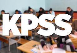 2018 KPSS lisans sınavı ne zaman KPSS ÖABT DHBT sınavlarına kimler girecek