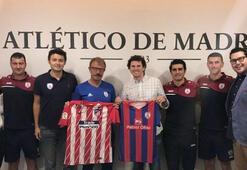 Altınordudan Atletico Madride ziyaret