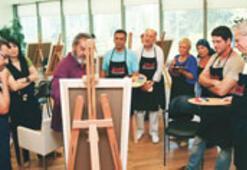 Sanatçıların resim macerası