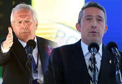 Fenerbahçenin tarihi kongresi | Aziz Yıldırım ve Ali Koç arasında söz düellosu