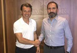 Sivassporun yeni teknik direktörü Tamer Tuna oldu