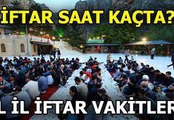 İstanbulda sahur saat kaçta 28 Mayıs il il iftar ve sahur vakitleri
