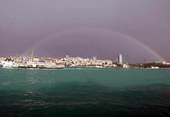 İstanbullulara gökkuşağı ziyafeti