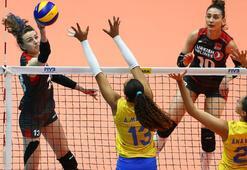 Türkiye - Brezilya: 1-3