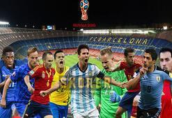Dünya Kupasında her grupta bir Barcelonalı