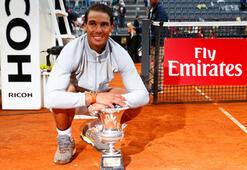Nadal, Roma Açıkta 8. kez şampiyon