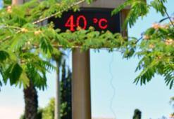 Son dakika... Termometreler bile eridi 40 dereceyi gördü...