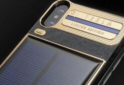 Dahili güneş paneline sahip iPhone X Tesla piyasaya çıktı
