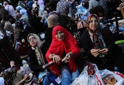 Ramazanın ilk günü Oruç Baba türbesine büyük ilgi