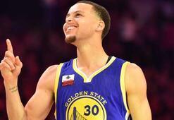 Curry rekor kırarak şampiyon