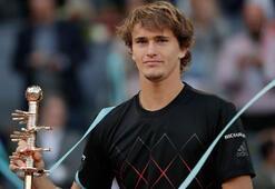 Madrid Açıkta şampiyon Zverev