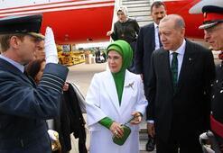 Cumhurbaşkanı Erdoğan uçaktan bağlanıp bu mesajı verdi