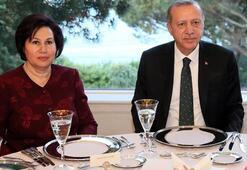 Cumhurbaşkanı Erdoğan, İstanbulda akşam yemeğine katıldı