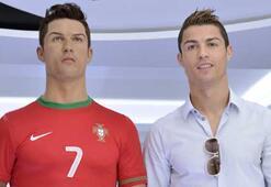 Ronaldo heykeline her ay kuaför yolluyor