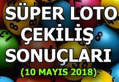 Süper Loto çekilişi sonuçları açıklandı (10 Mayıs 2018)