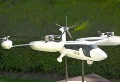 Uberin uçan taksi prototipi ilk kez görüntülendi