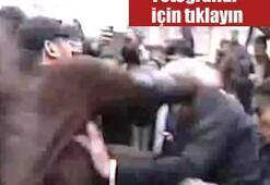 Samsunda Ahmet Türke yumruklu saldırı