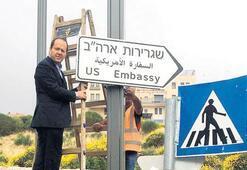 Kudüs'te büyükelçilik hazırlığı