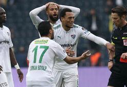 Bursasporlu oyunculardan Aydınusa tepki