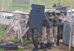 Vanda terör operasyonu 7 kişi gözaltında