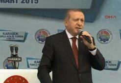 Cumhurbaşkanı Erdoğandan sert müdahale mesajı