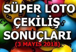 Süper Loto çekilişi sonuçları belli oldu (3 Mayıs 2018)