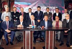 Trabzonspora tam destek