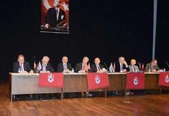 Trabzonspordan Divan Kuruluna bayrak ambargosu