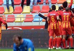 Kayserispor-Giresunpor: 4-0
