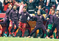 Galatasarayın derbi hasreti bitti