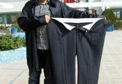 Mide küçültme ameliyatıyla 17 ayda 92 kilo verdi