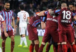Galatasaray liderliği Trabzonda bıraktı