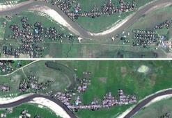 Son dakika... Uydu görüntüleri ortaya çıktı Bir haftada silindi...