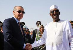 Cumhurbaşkanı Erdoğan, Çadda